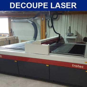 Le laser fait son entrée chez ADE !