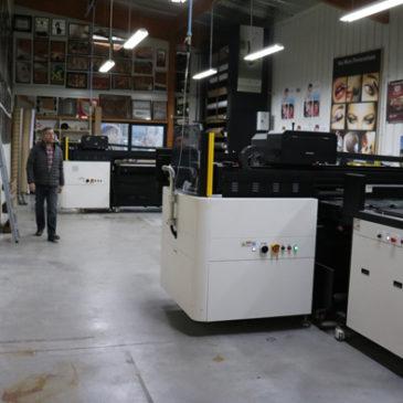 Deux machines pour deux fois plus de réactivité